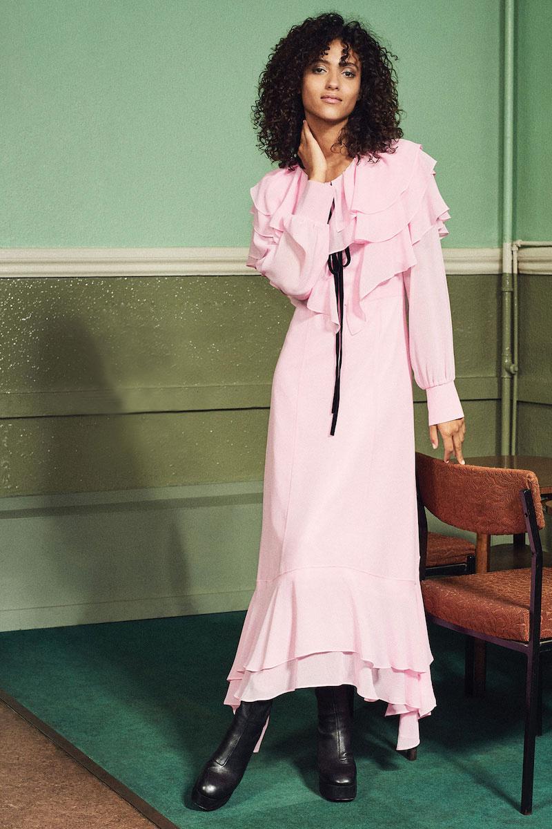 LEHA Ruffle Dress