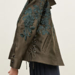 Lewit Oversize Embroidered Jacket