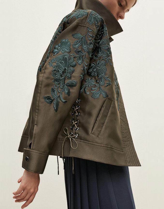 Lewit Oversize Embroidered Jacket