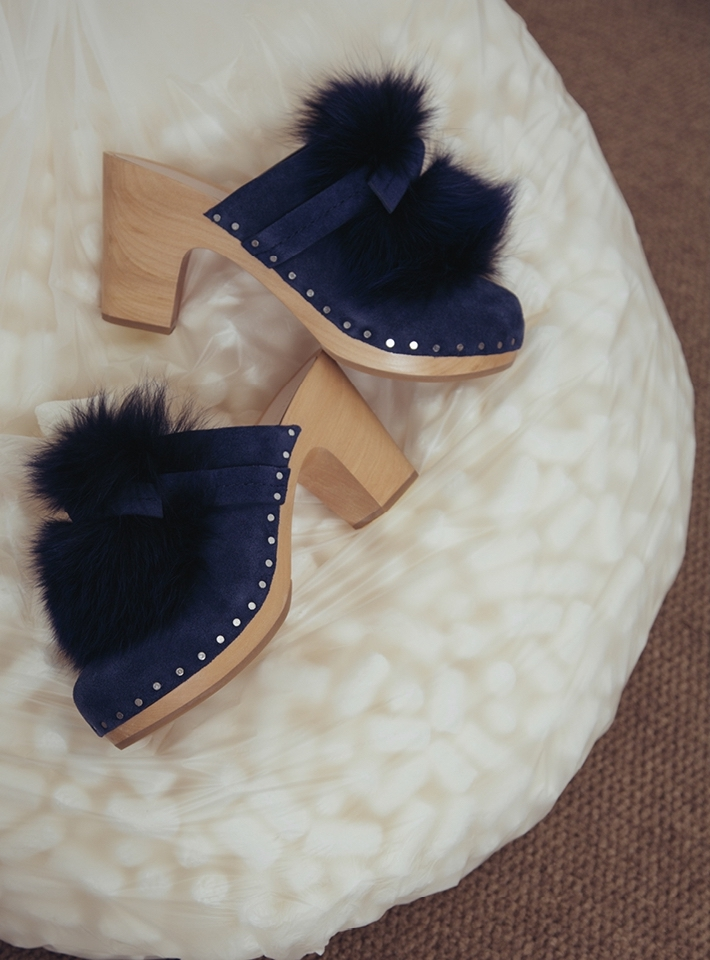 Loeffler Randall Phillips Clog in Eclipse