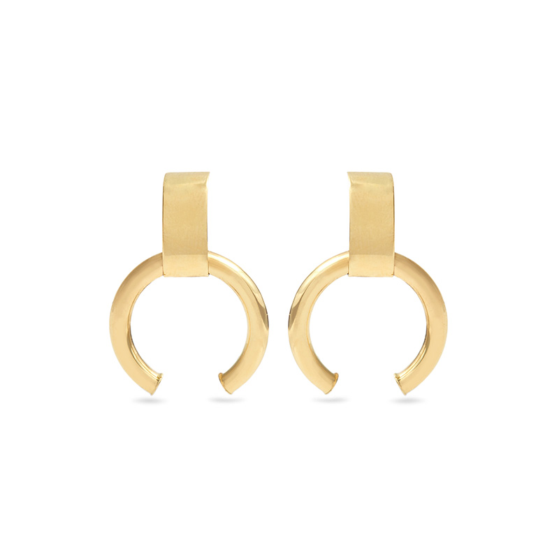 Loren Stewart Yellow-Gold Earrings