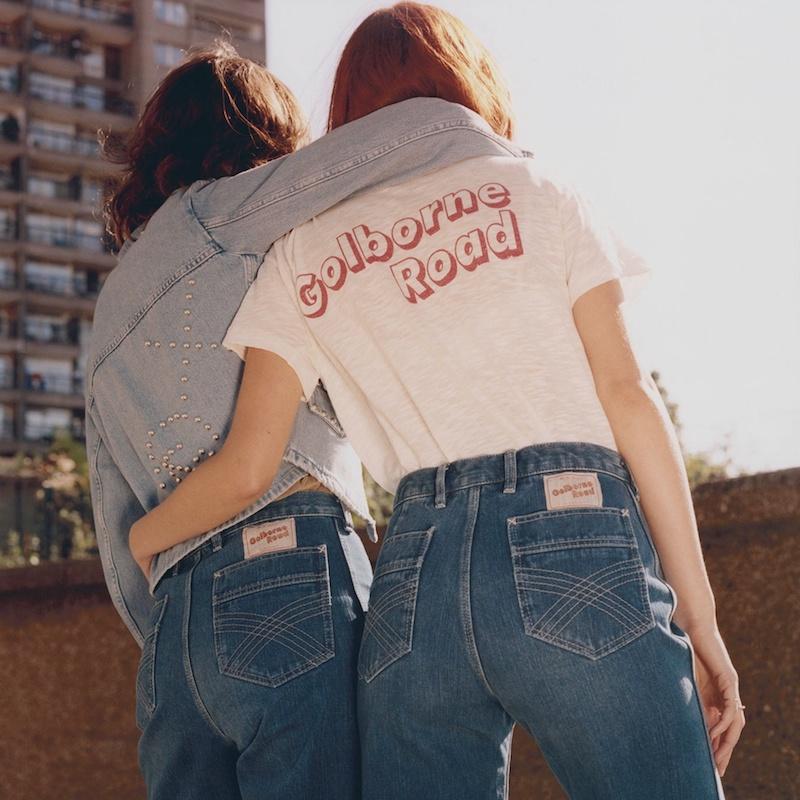 M.i.h Jeans Golborne Road-Print Cotton-Jersey T-Shirt