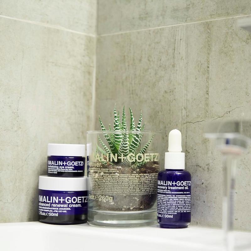 MALIN+GOETZ Advance Skincare Collection