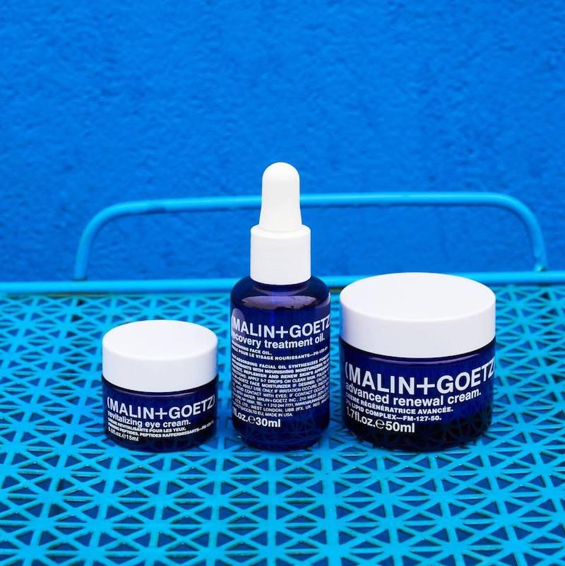 MALIN+GOETZ Advance Skincare Collection