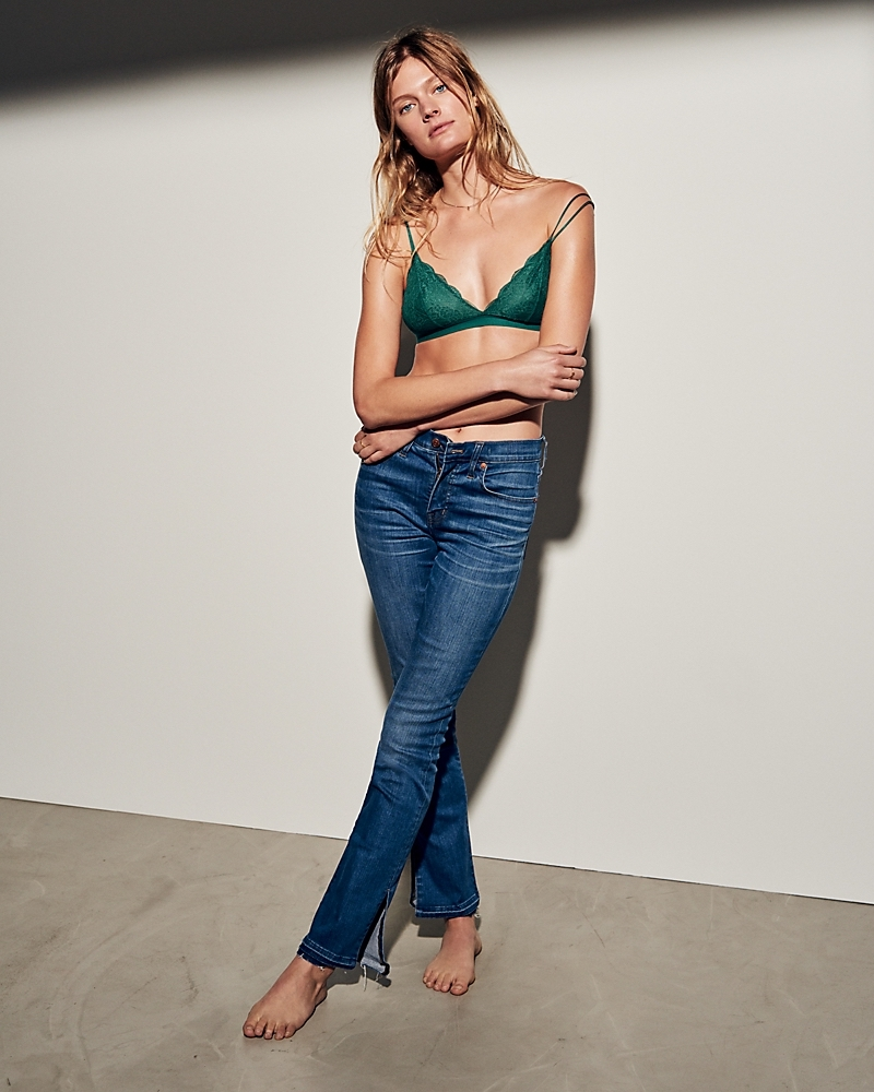 Madewell Cali Demi-Boot Jeans Split-Hem Edition