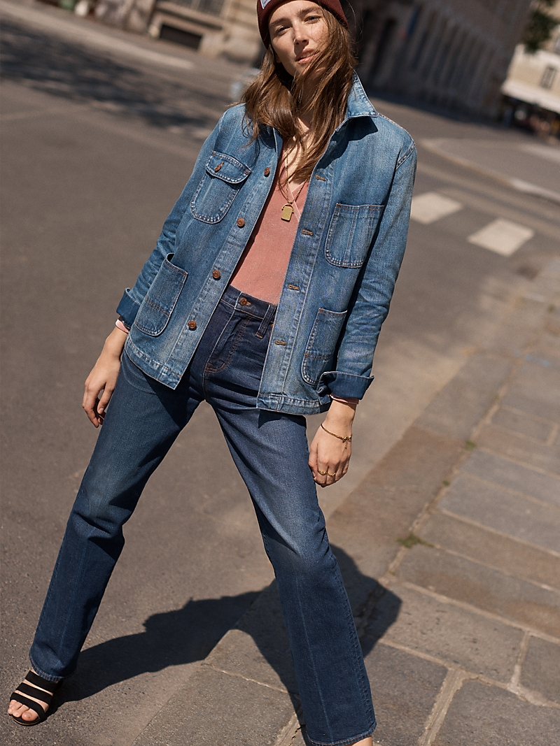 Madewell Denim Chore Coat