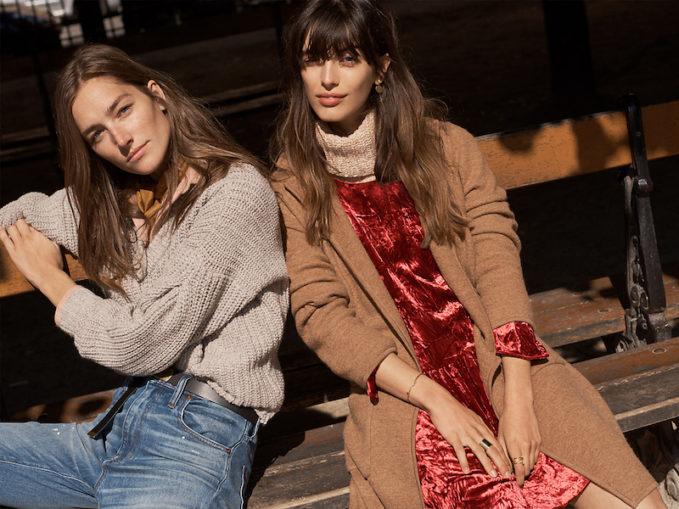 Madewell Pleat-Sleeve Pullover Sweater