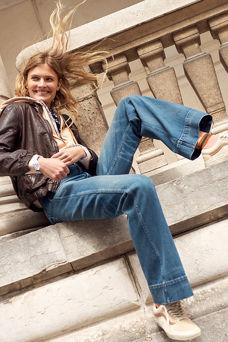 Madewell Rivet & Thread Retro Wide-Leg Jeans