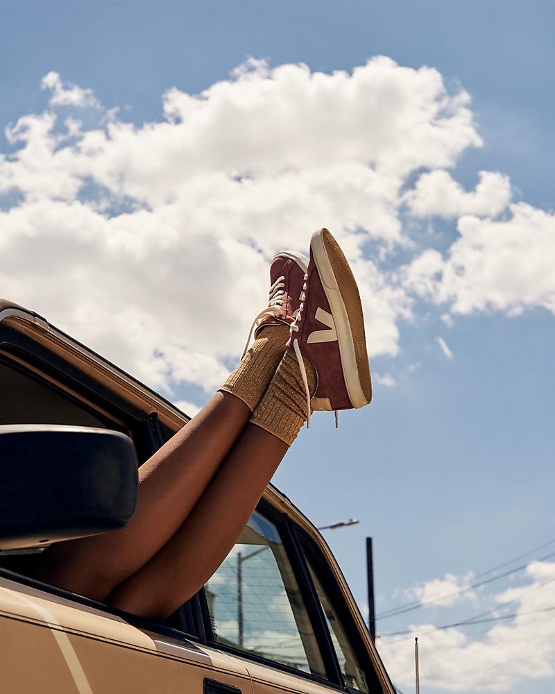 Madewell x Veja Esplar Low Sneakers In Suede