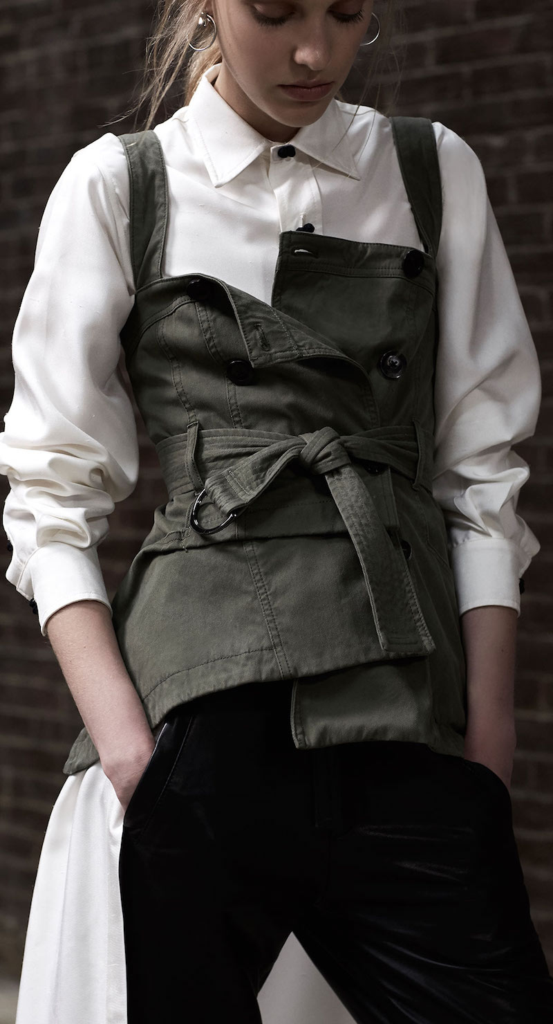 Marissa Webb Lani Trench Vest