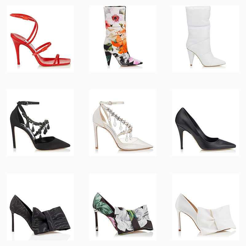 Off-White™ c/o Jimmy Choo Spring/Summer 2018 Shoes Collection