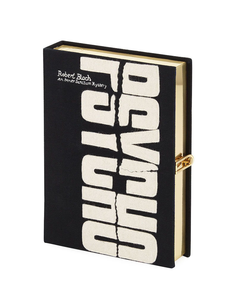 Olympia Le-Tan Psycho Book Clutch Bag