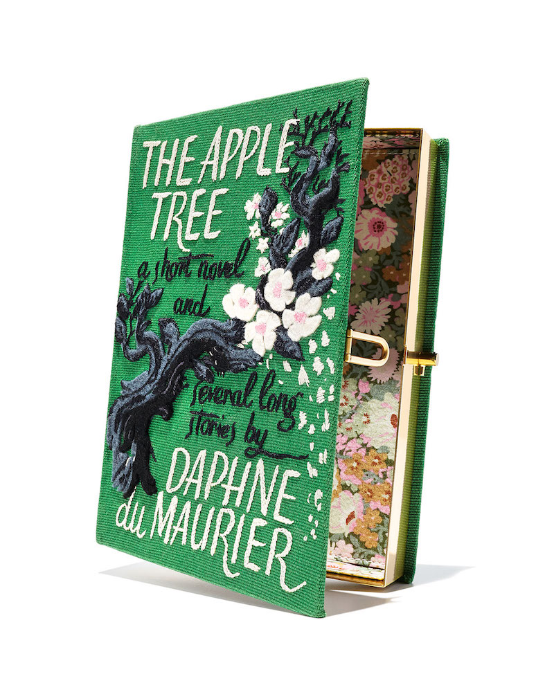 Olympia Le-Tan The Apple Tree Book Clutch Bag