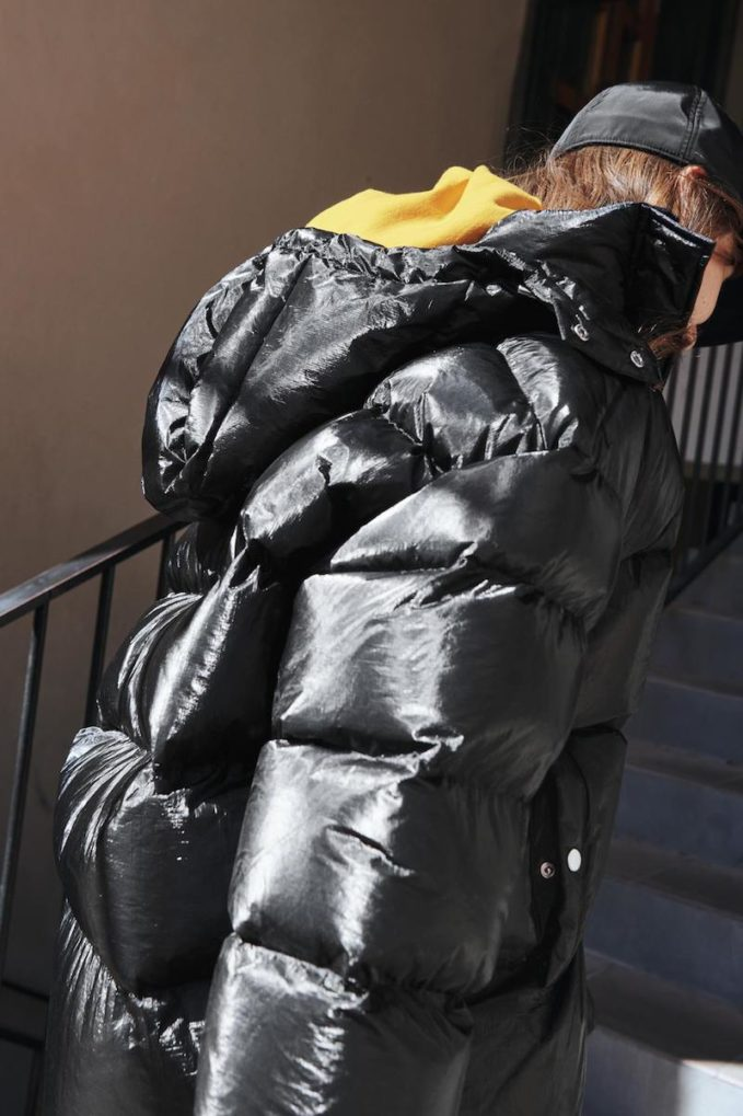 & Other Stories Puffer Padded Jacket