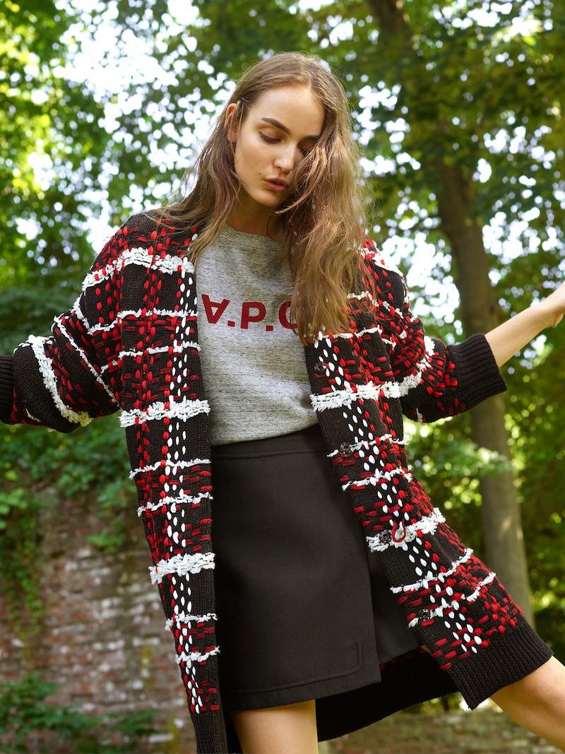 Rag & Bone Dawson Sweater Coat