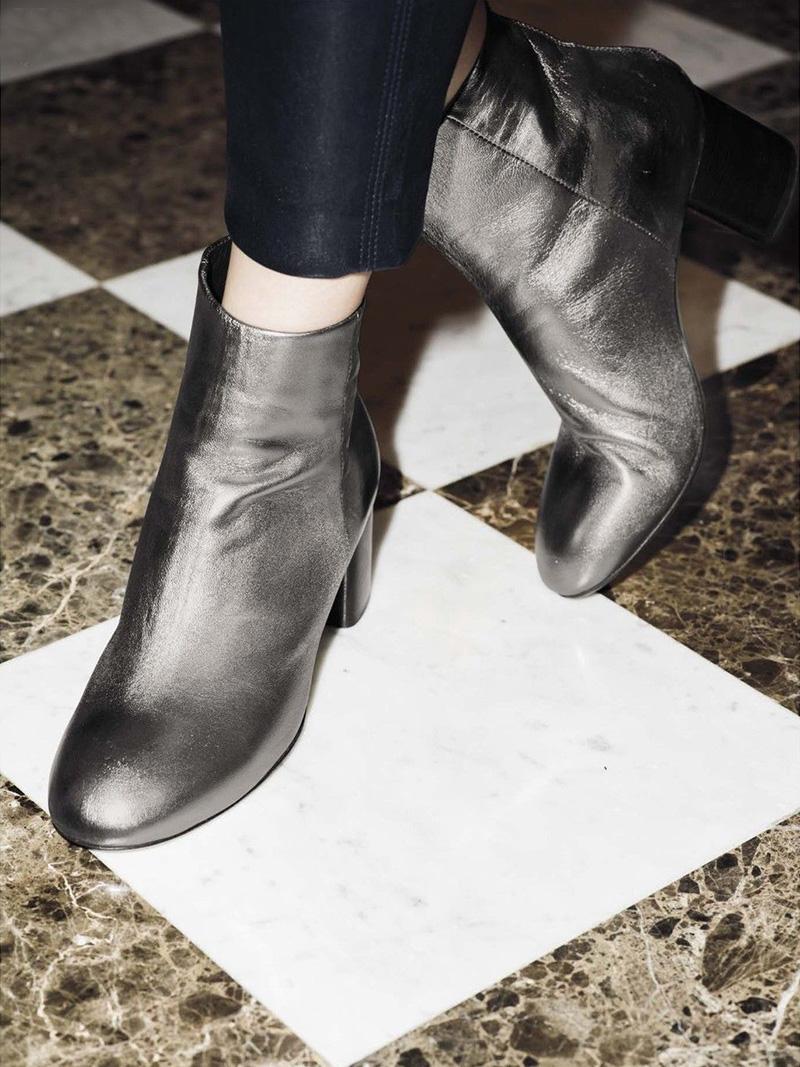 Rag & Bone Drea Leather Ankle Boots