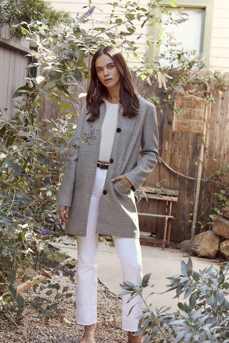 Reformation Claudette Coat