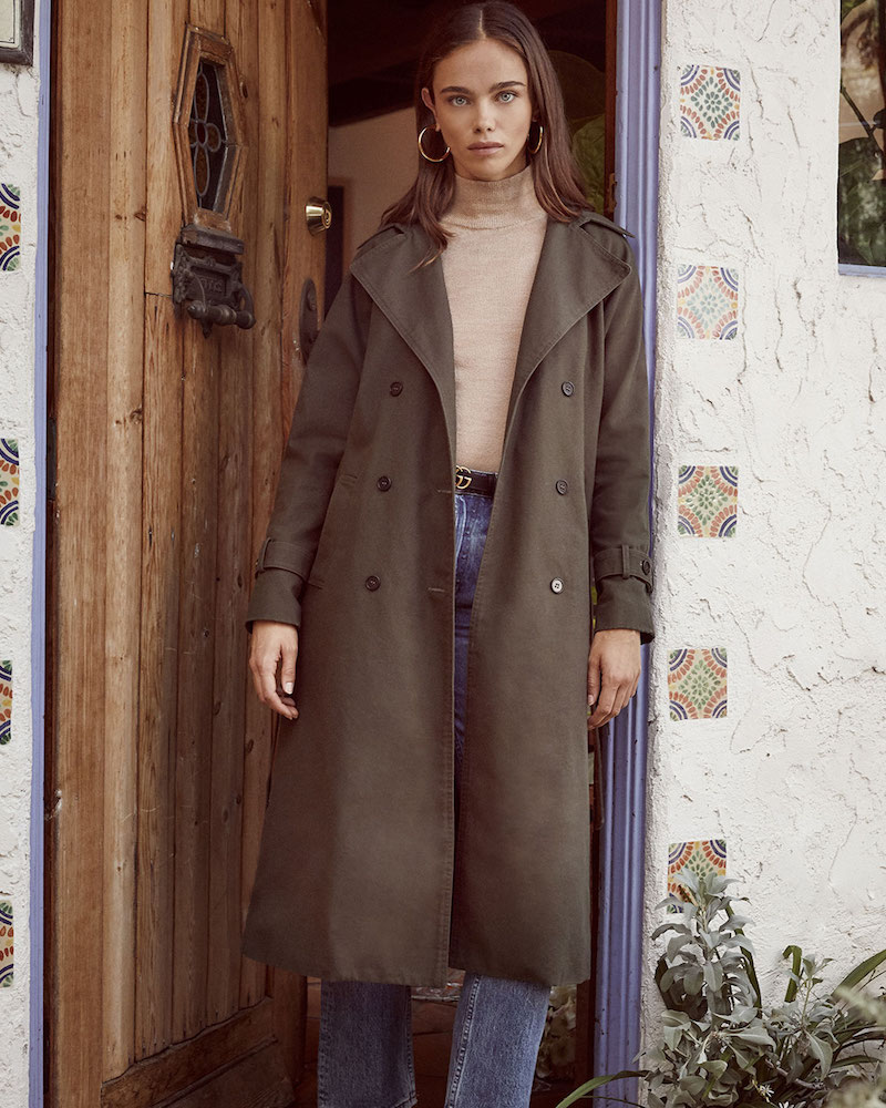 Reformation Colonel Coat