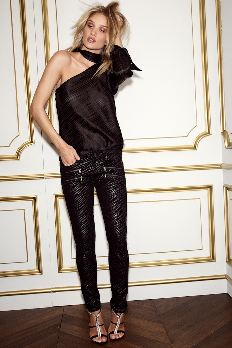Rosie HW x PAIGE Collection Stevie Ultra Skinny