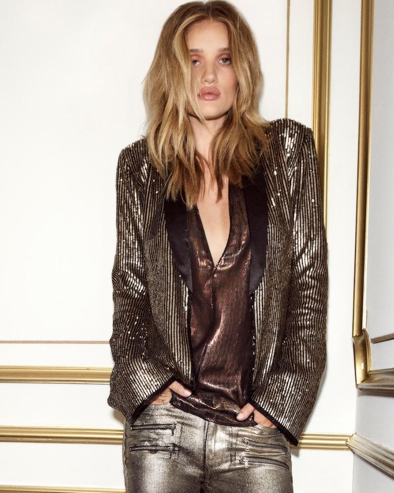 Rosie HW x PAIGE Kate Tuxedo Jacket