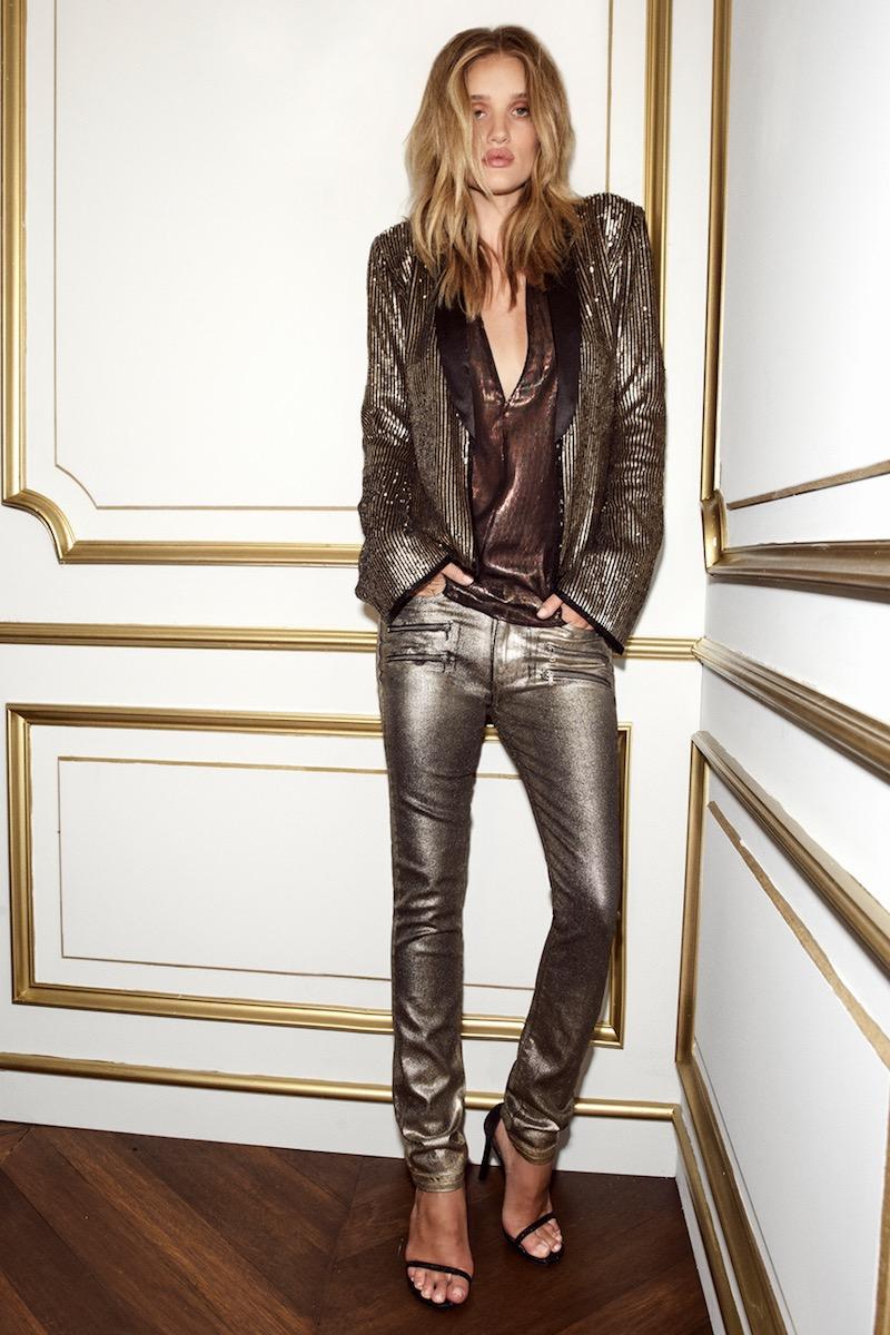 Rosie HW x PAIGE Stevie High Waist Skinny Jeans