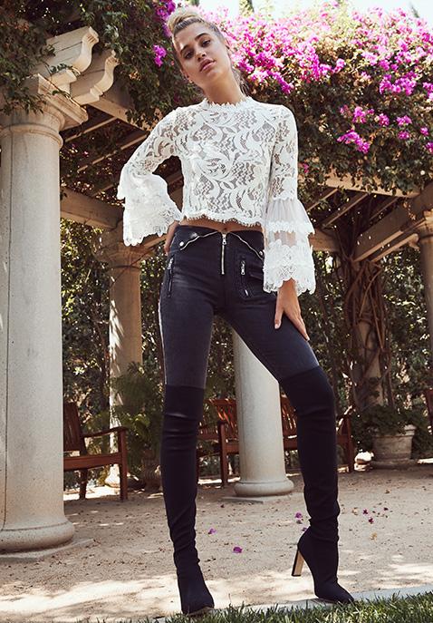 RtA Diavolina Skinny Jeans