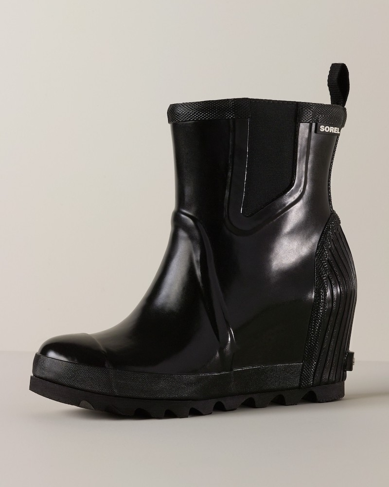 SOREL Joan of Arctic Wedge Chelsea Rain Boot