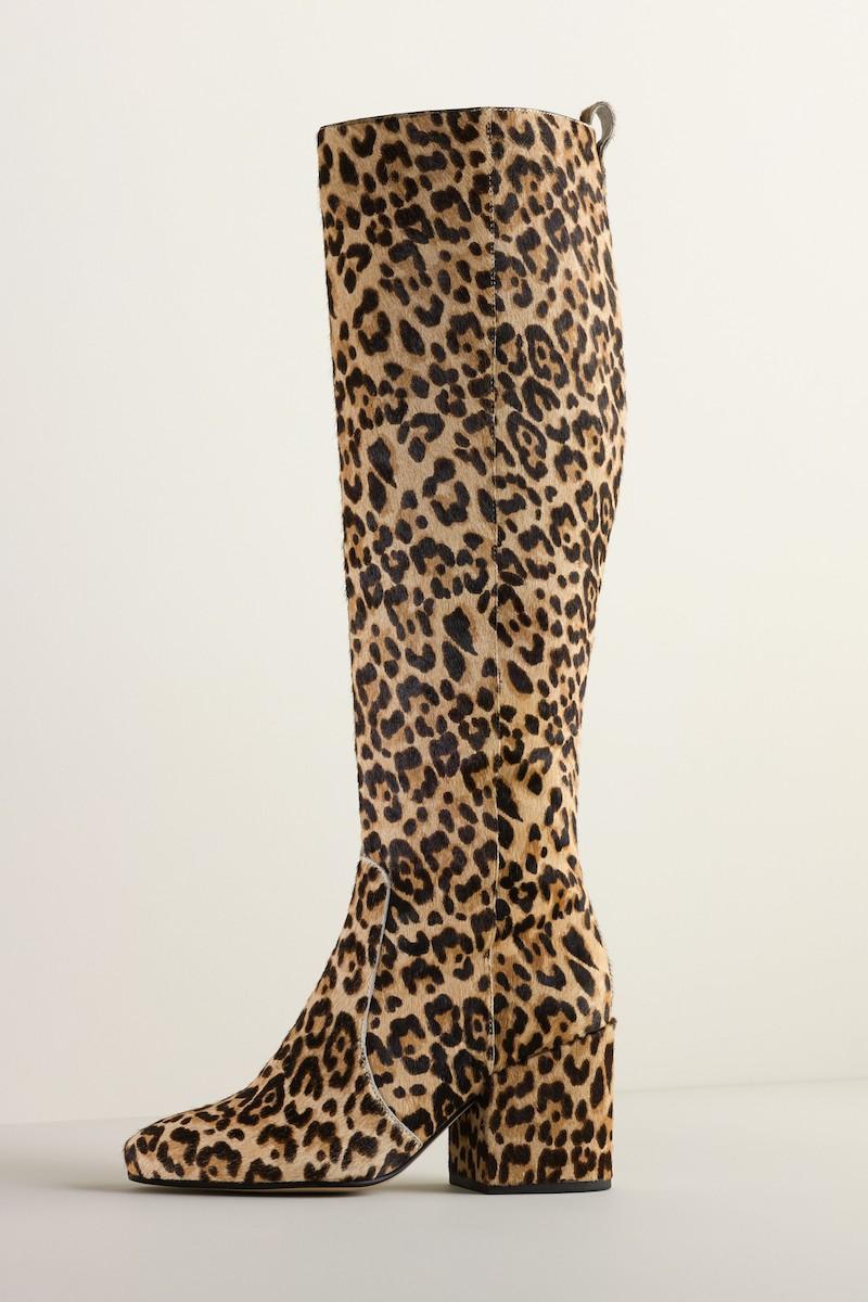 Sam Edelman Thora Genuine Calf Hair Knee High Boot
