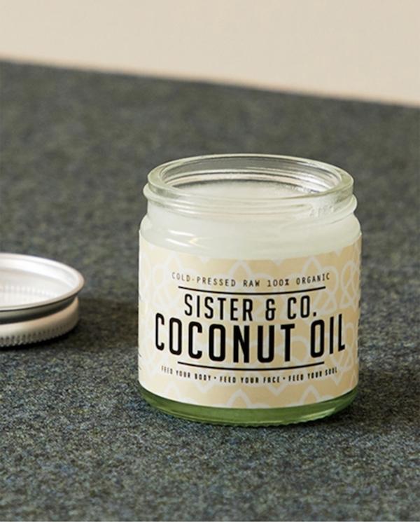 Sister & Co. Raw Coconut Oil