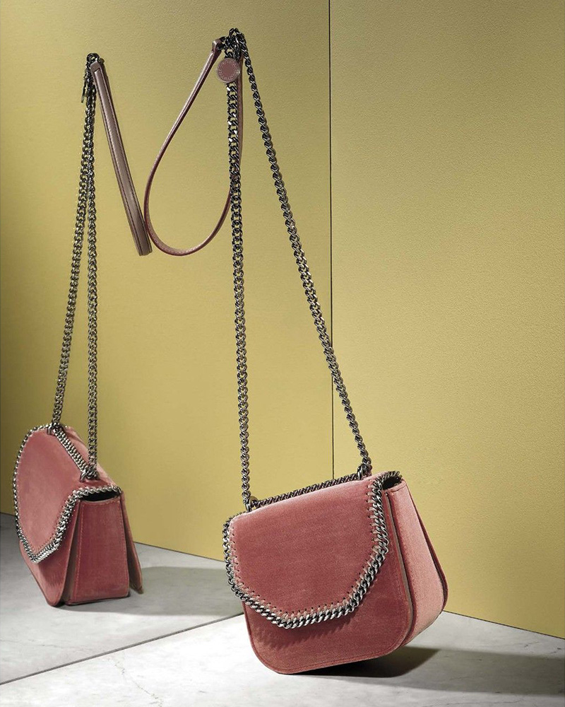 Stella McCartney Chain-Trim Shoulder Bag