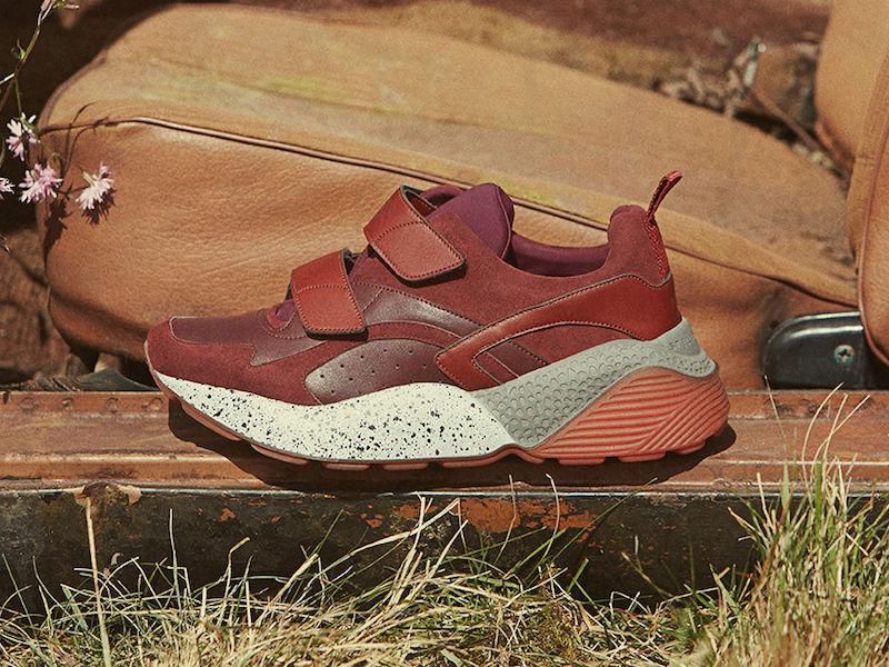 Stella McCartney Eclypse Red Sneakers