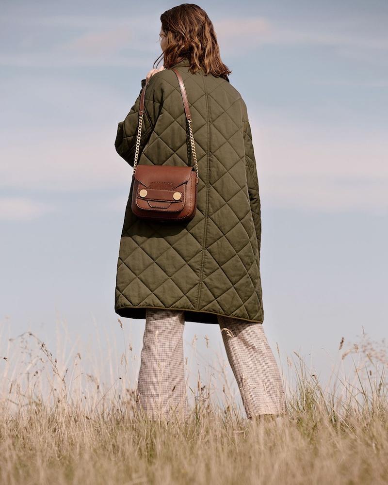 Stella McCartney Hazel Oversized Quilted Coat