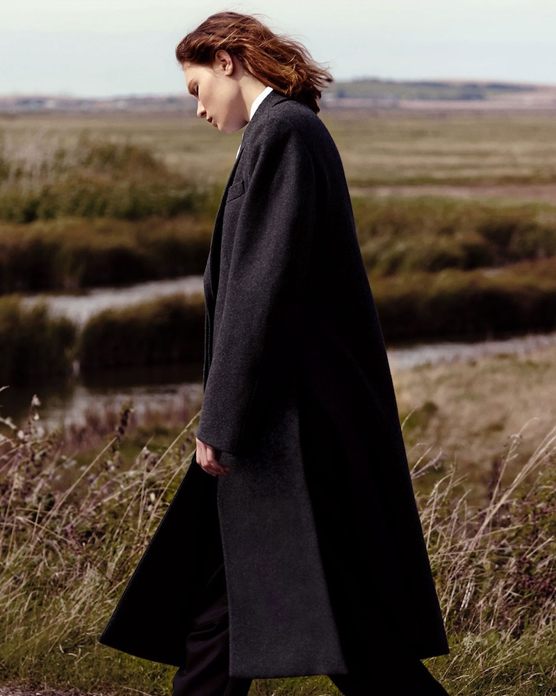 Stella McCartney Oversized Single-Breasted Wool Coat
