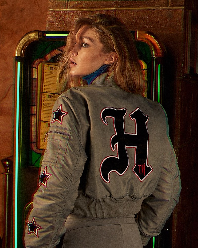 TOMMY x GIGI Cropped Thermore Bomber