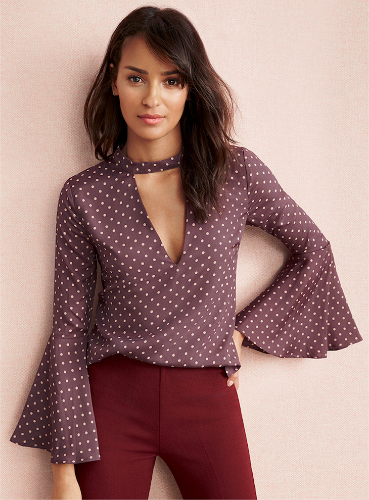 The Cut-Out Blouse