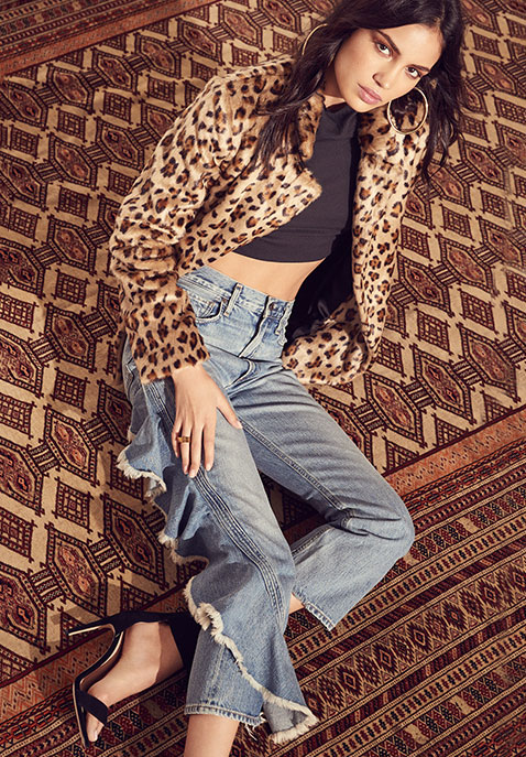 24b27ab5ff6 Shop Fall 2017 outfit inspo at REVOLVE. Jacket. Theory Clairene Faux Fur  Coat