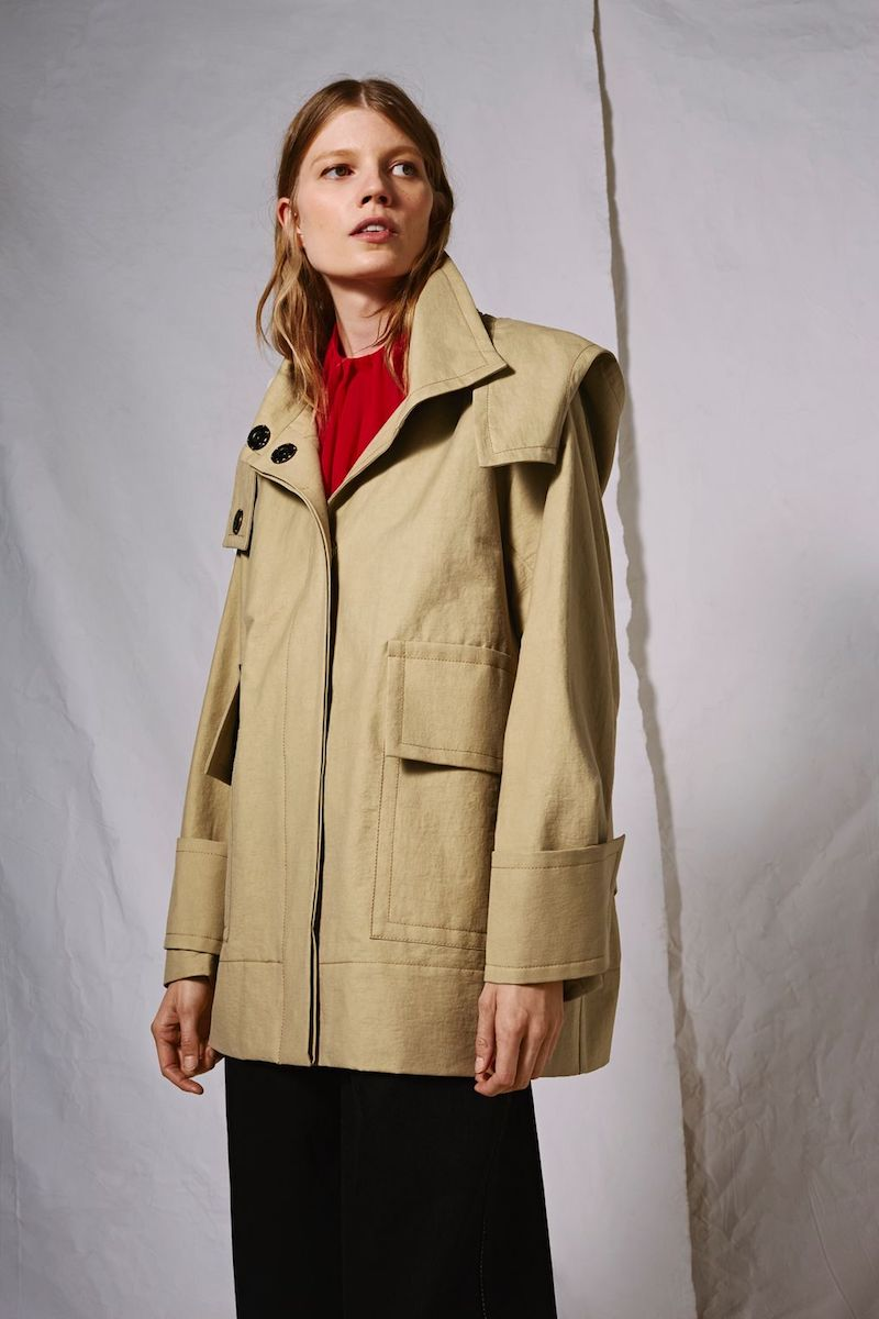 Topshop Boutique Hooded Parka Jacket