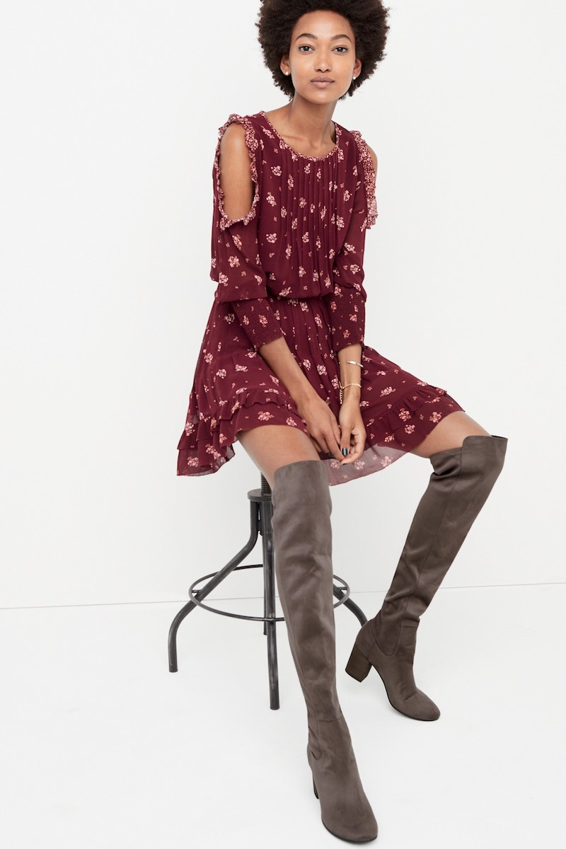 Treasure & Bond Lynx Stretch Over the Knee Boot