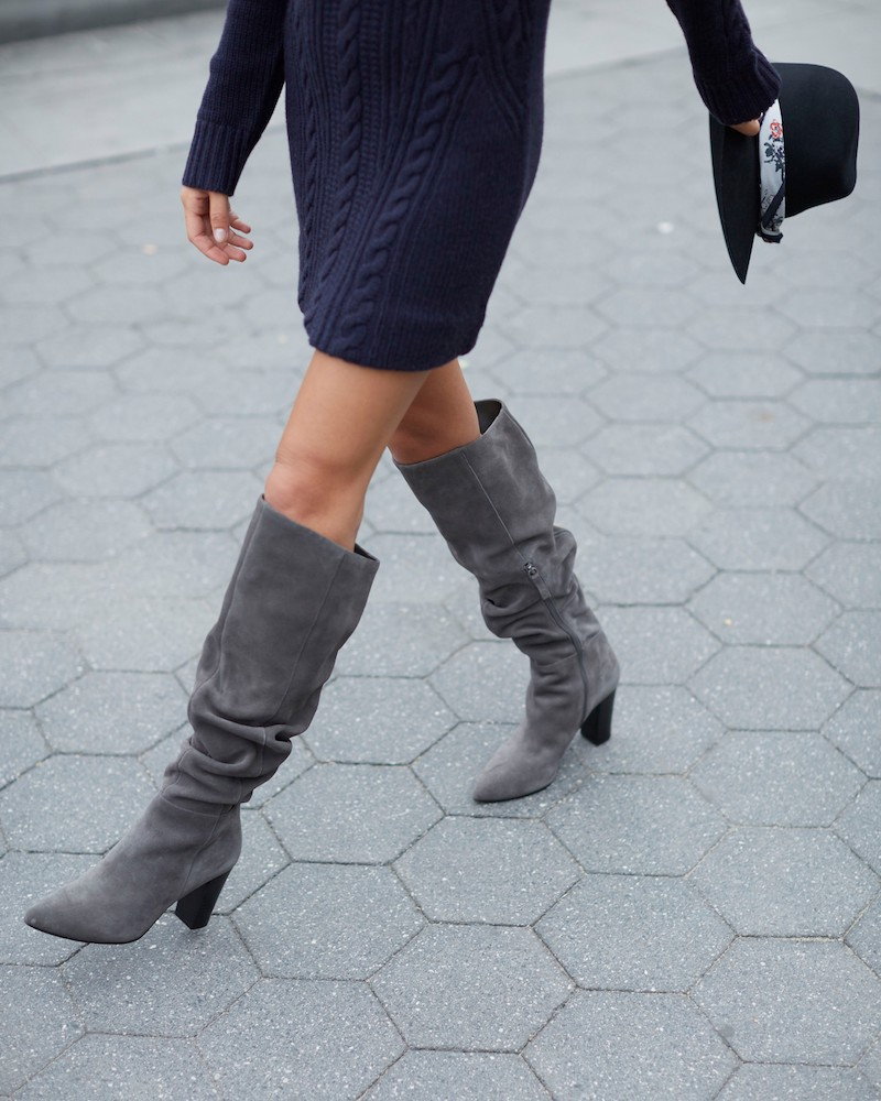 Treasure & Bond x Something Navy Aiden Knee High Boot