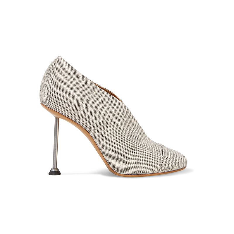 Victoria Beckham Pin Canvas Pumps