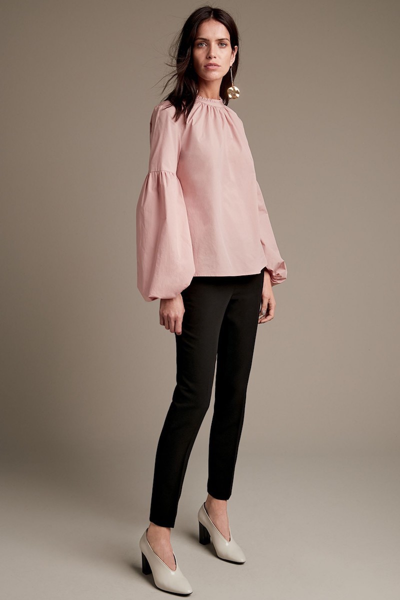 Vince Camuto Balloon Sleeve Blouse