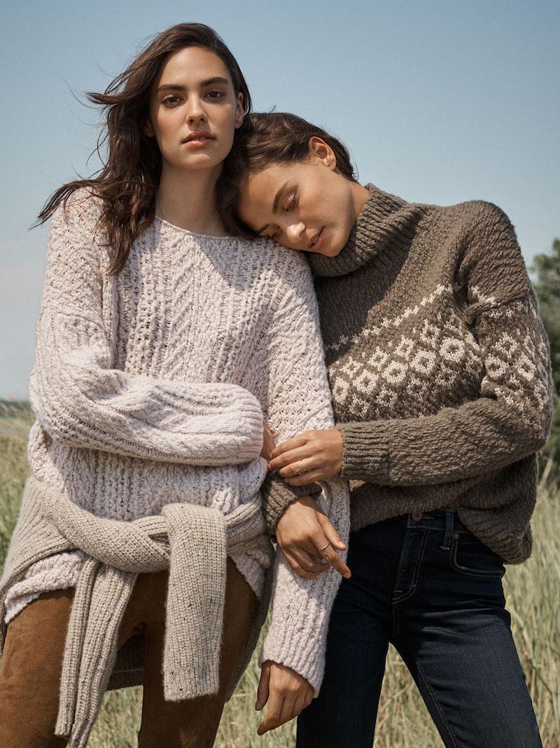Vince Fair Isle Turtleneck Sweater