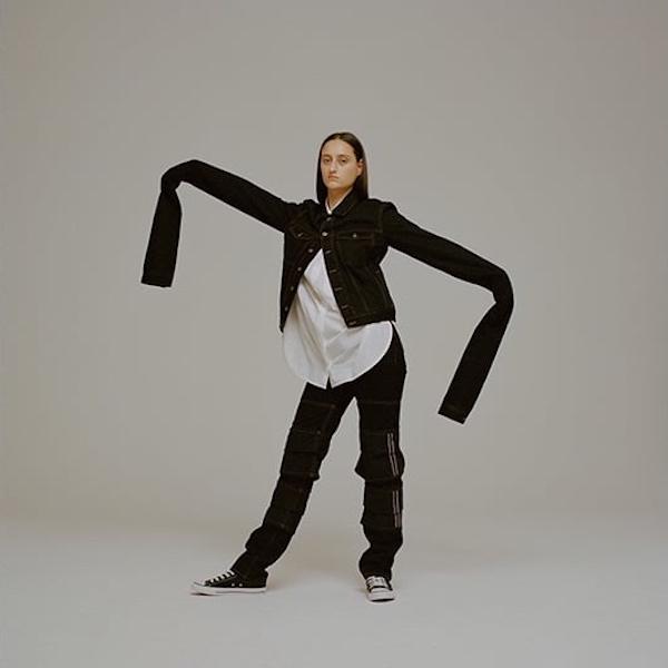 Y/Project Oversized Extra-Long Sleeve Denim Jacket