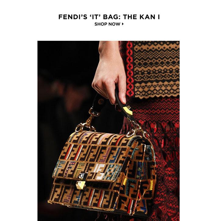 FENDI'S IT BAG: THE KAN I. SHOP NOW