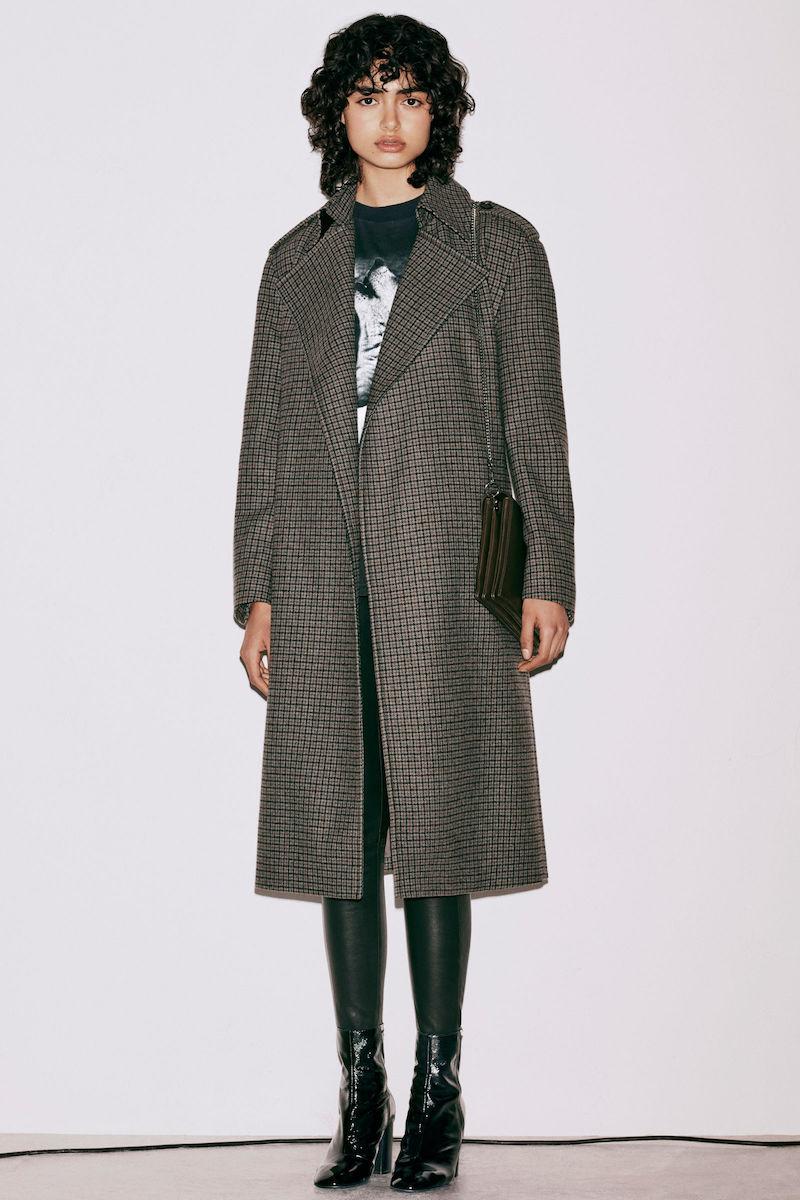 AllSaints Ripley Check Coat