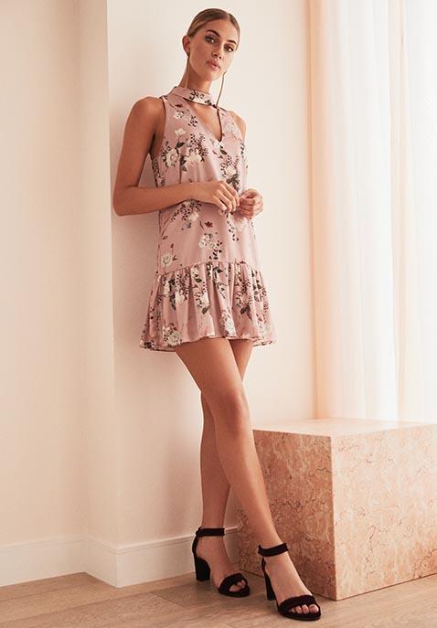Amanda Uprichard Sara Cut Out Dress