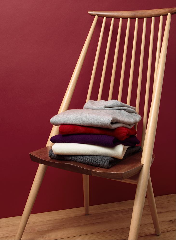 An Ultra-Soft Cashmere Sweater