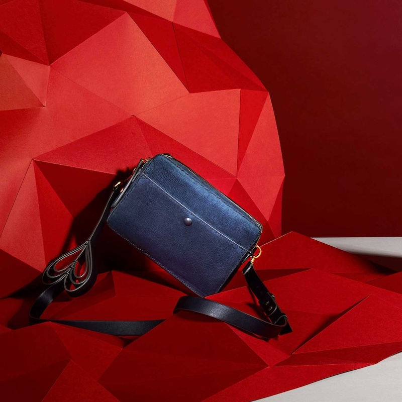 Anya Hindmarch Double Stack Leather Cross-Body Bag