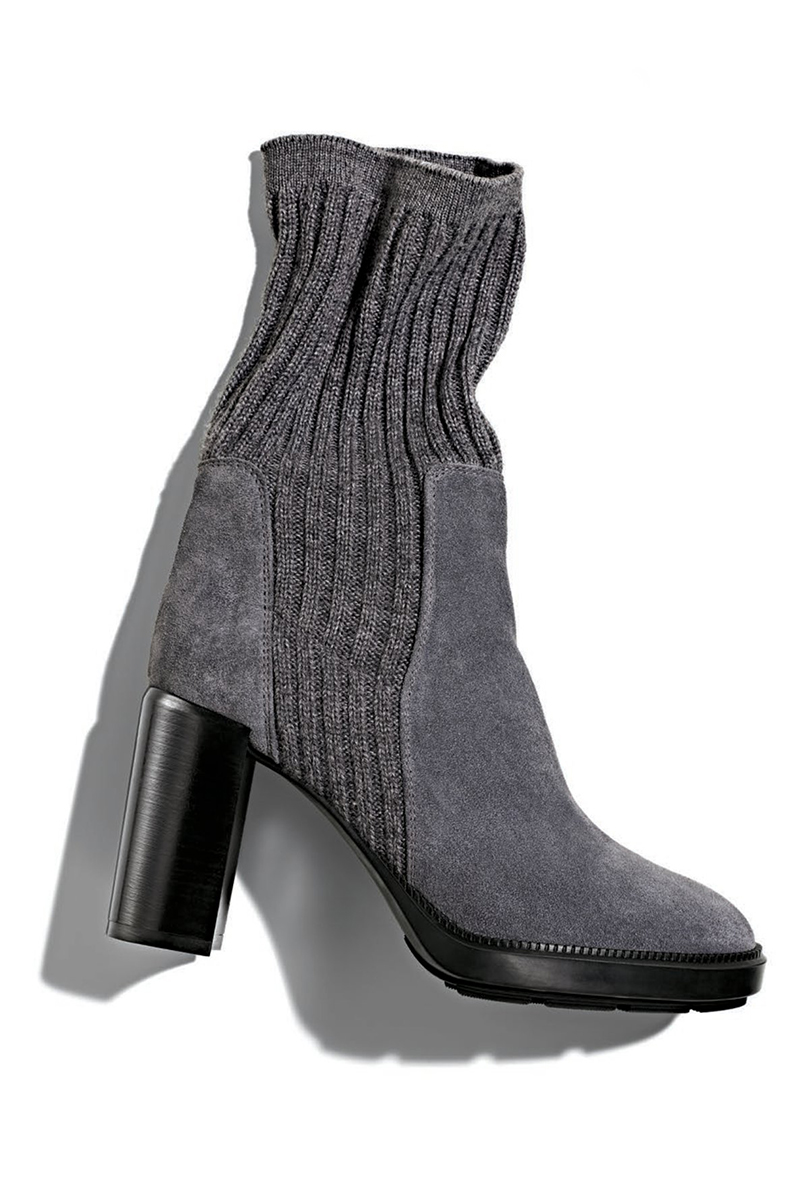 Aquatalia Imogen Ribbed Sweater Boot