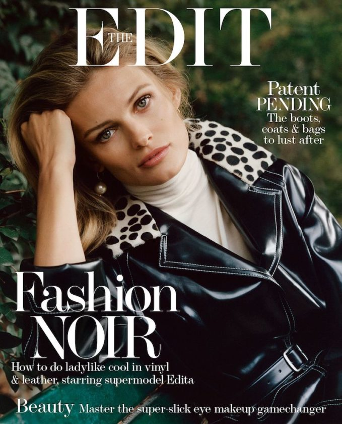 Belle Toujours: Edita Vilkeviciute for The EDIT Cover